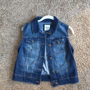 Mudd Blue Jean Vest